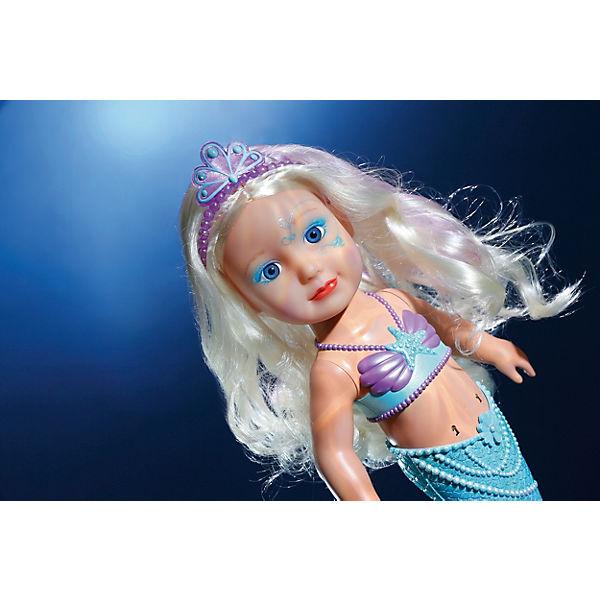 """Интерактивная кукла Zapf Creation """"Baby born"""" Сестричка Русалочка, 43 см"""