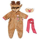 """Одежда для куклы Zapf Creation """"Baby Annabell"""" Северный олень"""