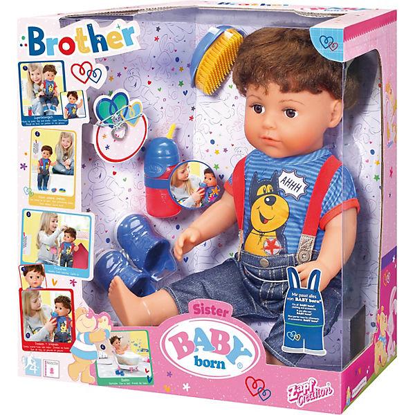 """Кукла Zapf Creation """"Baby born"""" Братик, 43 см"""