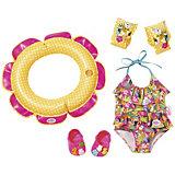 Одежда для куклы Zapf Creation Baby born, для пляжного отдыха