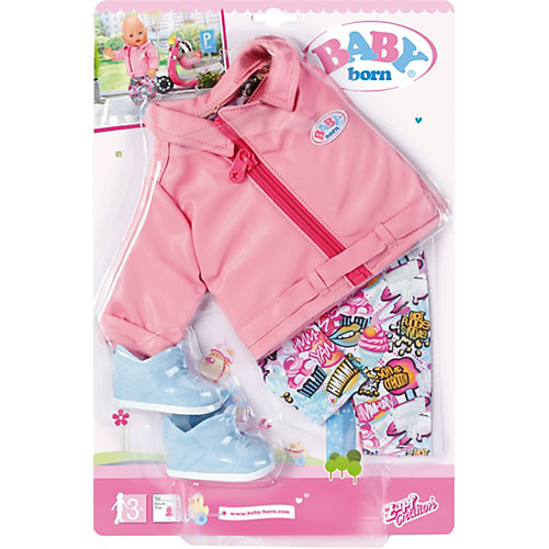 """Одежда для куклы Zapf Creation """"Baby born"""" Костюм для скутериста от Zapf Creation"""