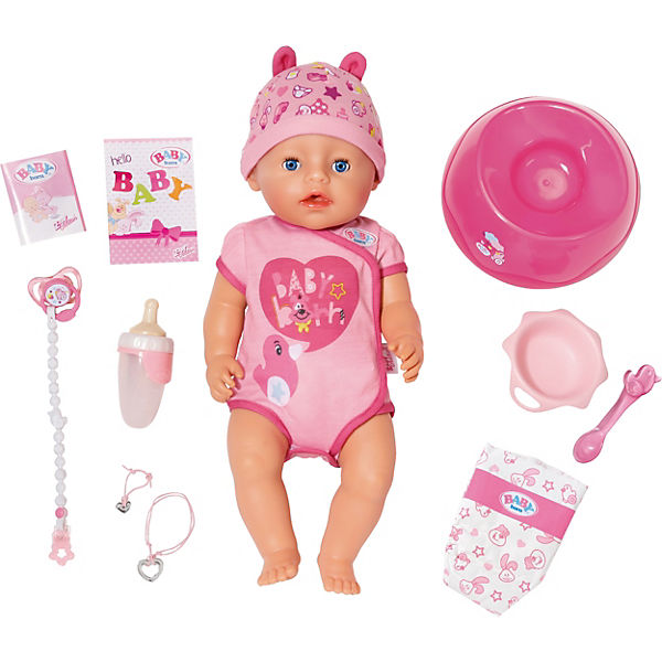 BABY born® Babypuppe Soft Touch Girl Blue Eyes