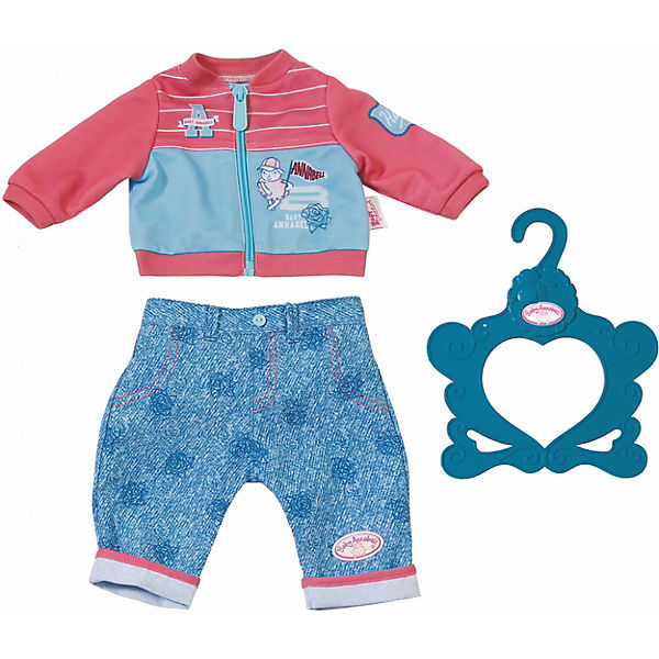 Baby Annabell® Play Outfit w. pink jacket
