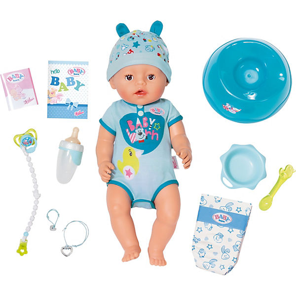 Baby Born 174 Babypuppe Soft Touch Boy Baby Born 174 Mytoys