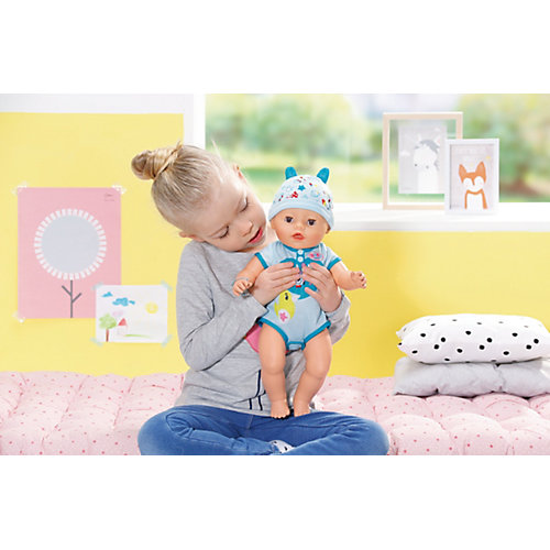 "Интерактивная кукла Zapf Creation ""Baby born"" Мальчик, 43 см от Zapf Creation"