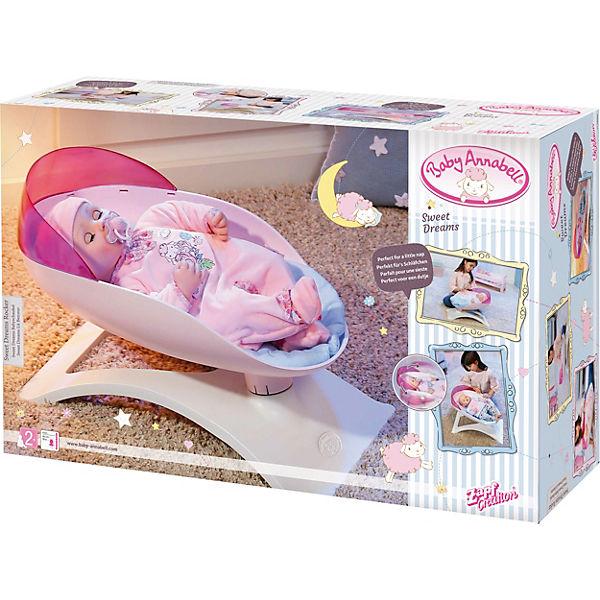 """Мебель для куклы Zapf Creation """"Baby Annabell"""" Кроватка-качалка"""