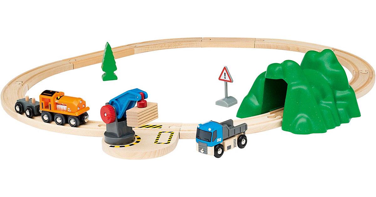 Brio · Starterset Güterzug mit Kran A