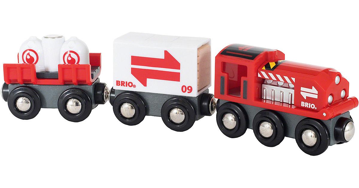 Güterzug mit Frachtladung