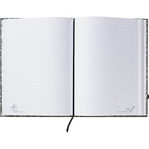 Книга для записей A4 (96 листов, линейка) LEGO, цвет: серый от LEGO