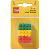 Набор ластиков (3 шт.) LEGO