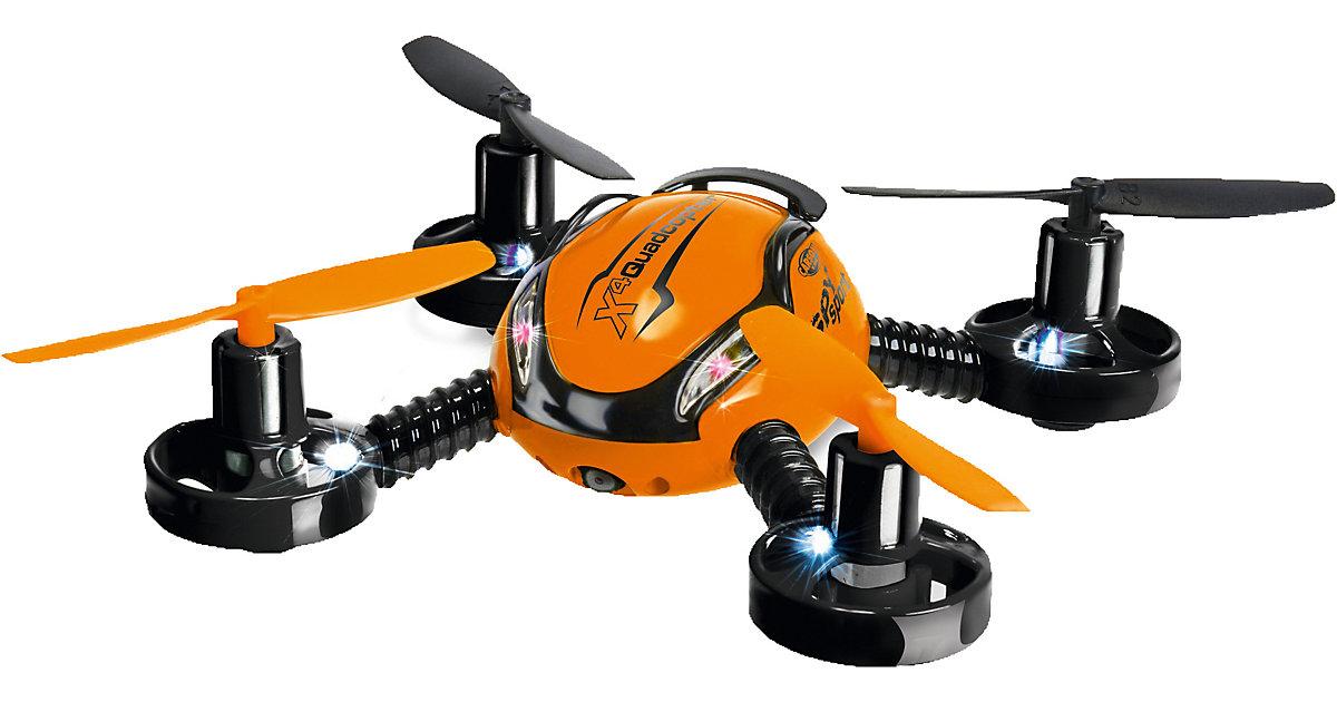 Carson X4 Quadcopter Spy Sport 100% RTF(Orange)