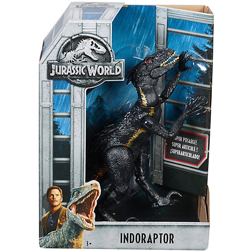 Игровая фигурка Jurassic World Индораптор от Mattel