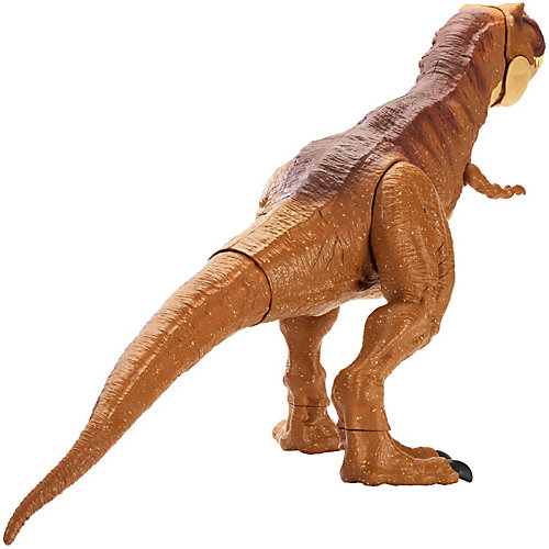 """Функциональная фигурка Jurassic World """"Колоссальный тиранозавр Рекс"""" от Mattel"""