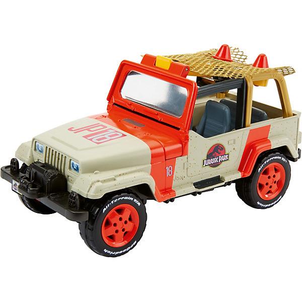 Matchbox Jurassic World Jeep Wrangler & Net Trapper, Jurassic World
