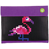 Пенал-косметичка Upixel «Sono Envelope clutch», фиолетовый-черный