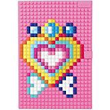 Пиксельный блокнот Upixel «notebook», розовый