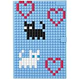 Пиксельный блокнот Upixel «notebook», голуьой
