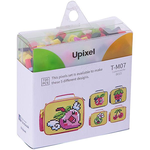 Комплект больших пикселей собери любую из 5 картинок Upixel, 720 шт