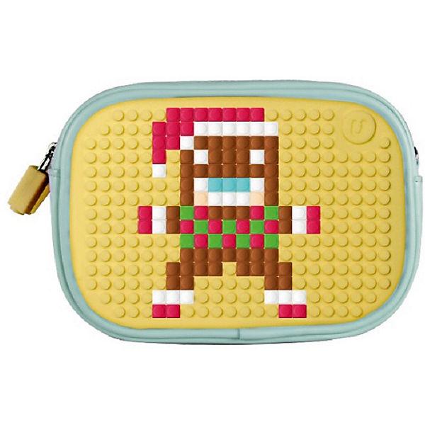 b4f01da086ab ... Маленькая сумочка Пенал Upixel «Sweet Love Clutch Bag», зеленая  мята-желтый ...