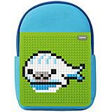 Детский рюкзак Upixel «Rainbow Island», голубой
