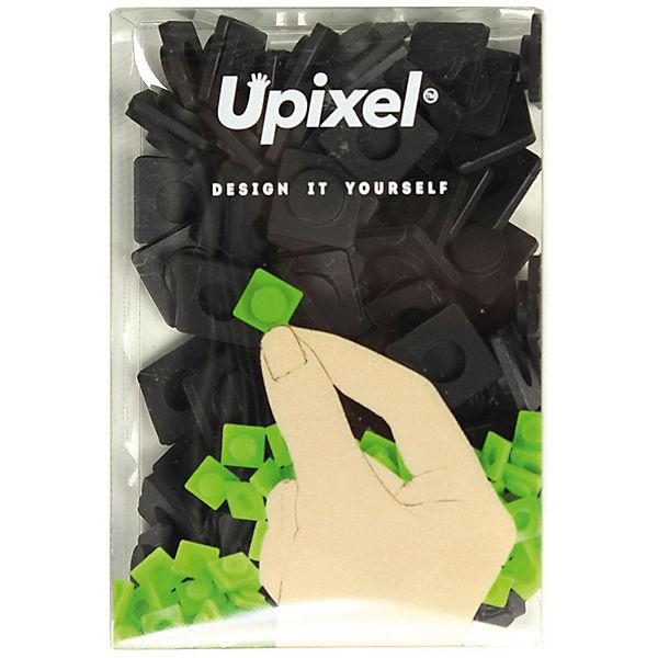 Пиксели большие Upixel, черный