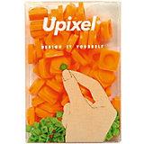 Пиксели маленькие Upixel, оранжевый