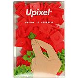 Пиксели большие Upixel, красный