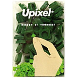 Пиксели маленькие Upixel, темно зеленый