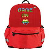 Рюкзак школьный Upixel «Explorer», красный