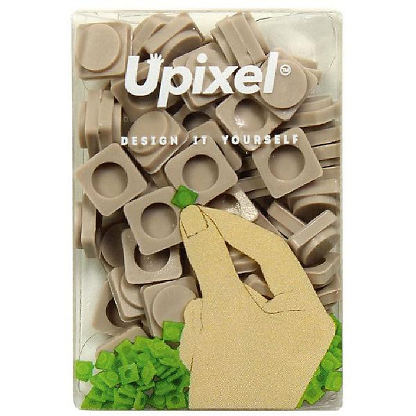 Пиксели маленькие Upixel, серый