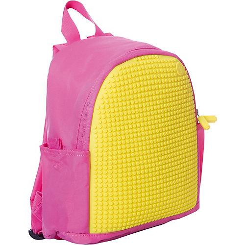 Мини рюкзак Upixel «Mini Backpack», розовый-желтый - розовый от Upixel