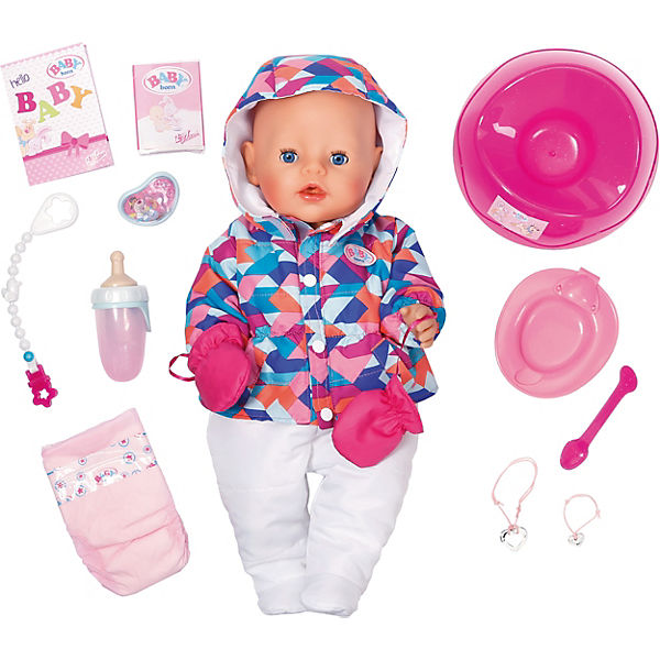 EXKLUSIV BABY born® Soft Touch Girl Wintertime