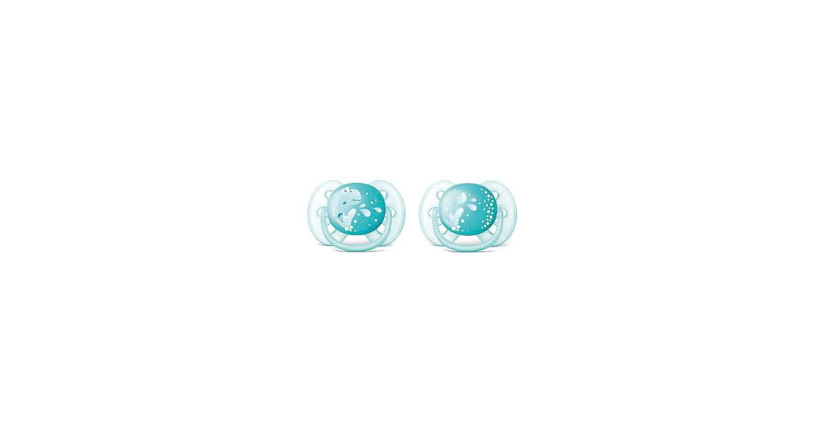 Philips AVENT · Schnuller Ultra Soft, Gr.2 Jungen, 2er Pack