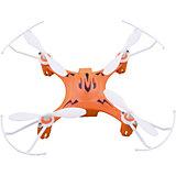 Квадрокоптер X7, оранжевый, Blue Sea