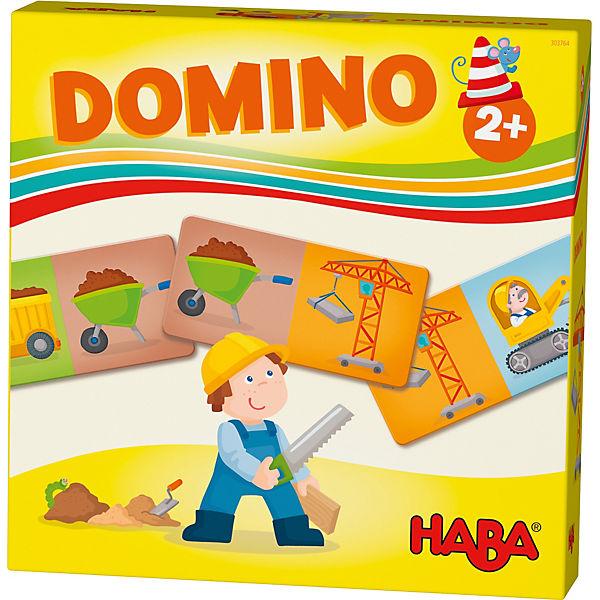 HABA Lieblingsspiele - Domino Baustelle, Haba