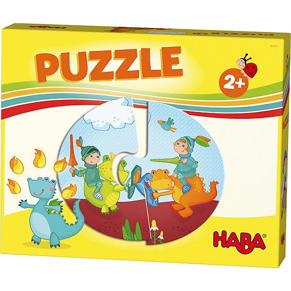 HABA Lieblingsspiele - Puzzles Ritter und Prinzessin, Haba