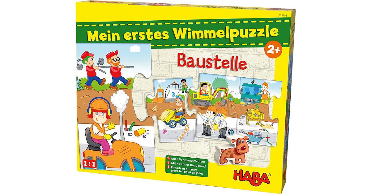 HABA 303705 Mein erstes Wimmelpuzzle - Baustelle