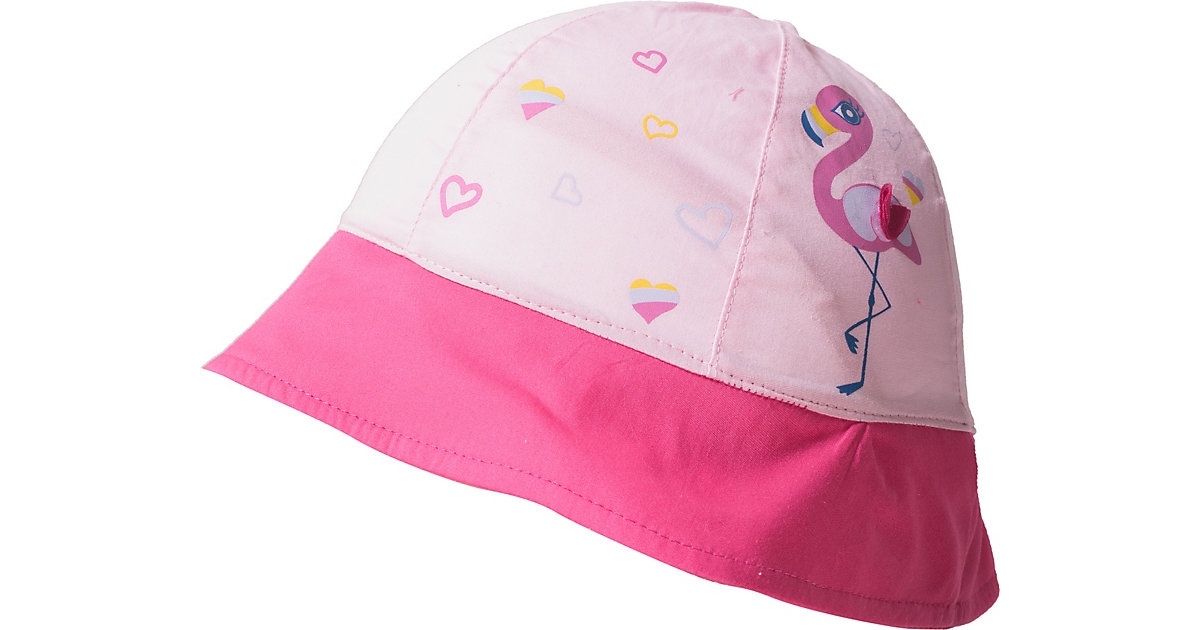 Hut zum Binden  rosa Gr. 50 Mädchen Kleinkinder