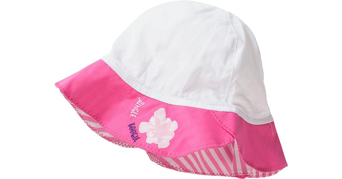 Hut  pink/weiß Gr. 50 Jungen Kleinkinder