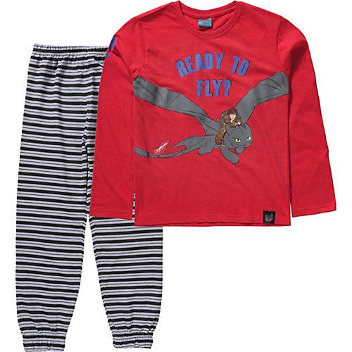 Dragons Schlafanzug Gr. 116/122 Jungen Kinder | 04049118500718