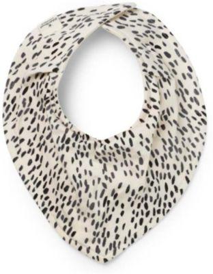 """Трикотажный нагрудник Elodie Details """"Dots of Fauna"""", белый/черный"""