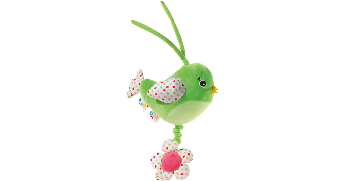 MUSIK Vogel grün