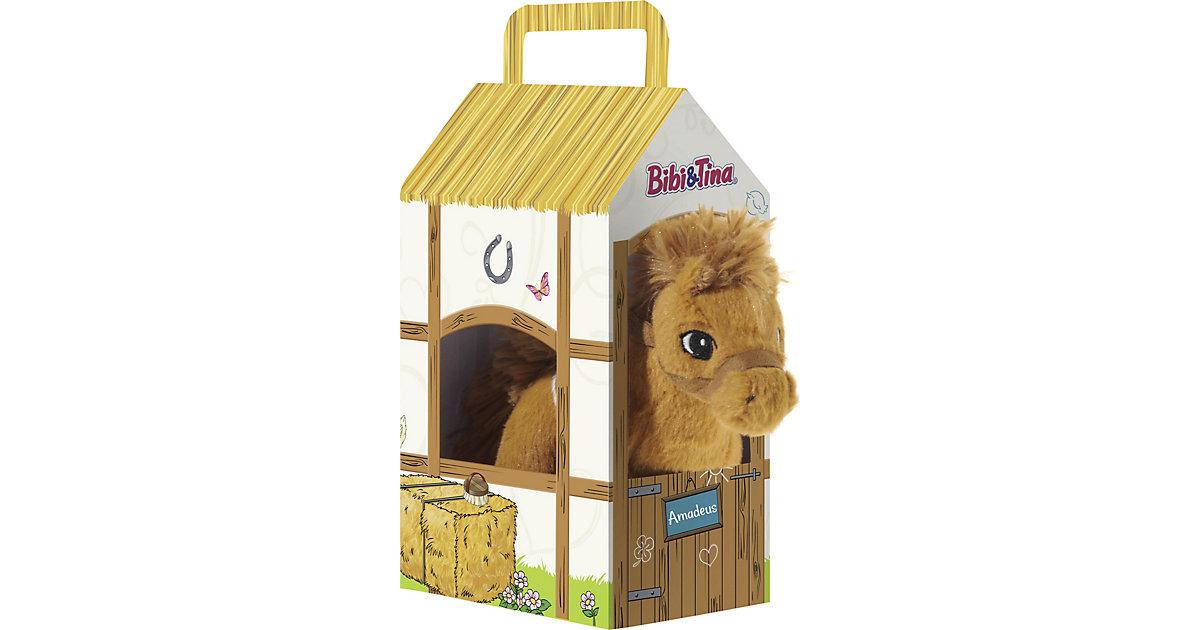"BIBI & TINA Pferd ""Amadeus"" stehend im Stall"
