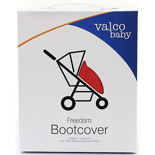 Накидка на ножки Valco baby Boot Cover Snap, Snap 4 / Fire red от Valco Baby