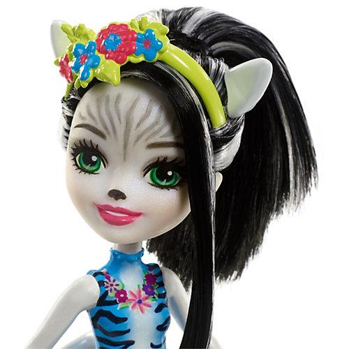 """Кукла Enchantimals """"С большими зверюшками"""" Зелена Зебра и Хуфит от Mattel"""