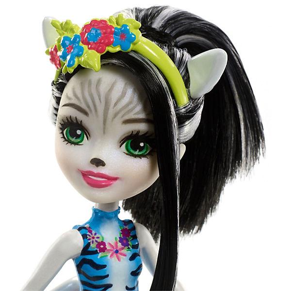 """Мини-кукла Enchantimals """"С большими зверюшками"""" Зелена Зебра и Хуфит"""
