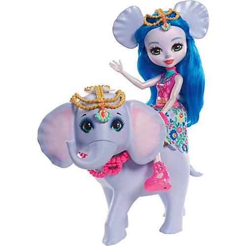 """Кукла Enchantimals """"С большими зверюшками"""" Екатерина Слон и Антик от Mattel"""