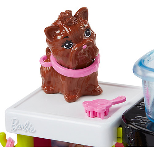 """Игровой набор Barbie """"Профессии"""" Салон для собак от Mattel"""