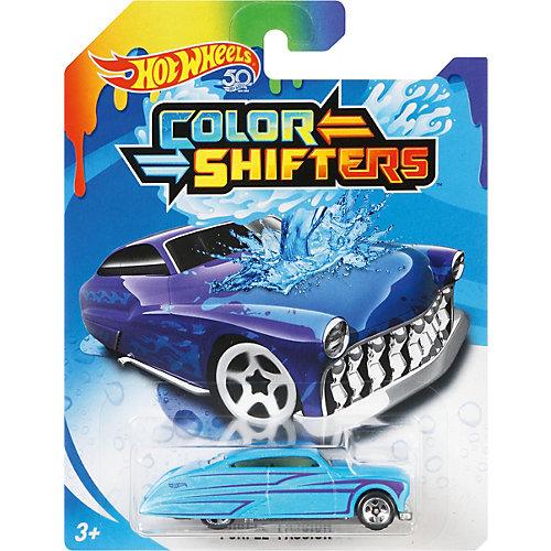 """Машинка Hot Wheels """"Color Shifters"""" меняющая цвет, HW City от Mattel"""