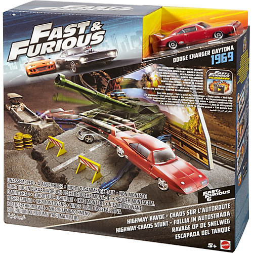 """Автотрек Hot Wheels """"Форсаж Fast & Furious"""" Highway Havoc от Mattel"""